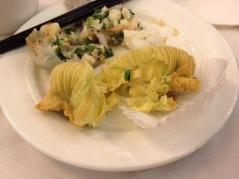 Durian pastry at Dim Sum