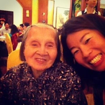 Grandma's 1st selfie