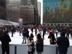 Bryant Park Ice Skating Rink