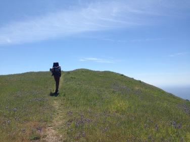 John hiking