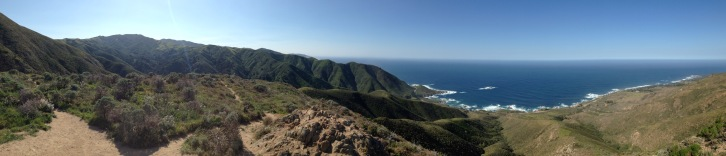Panoramic CA Coast, Highway 1.