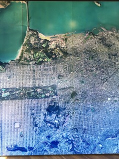 Satellite view of SF