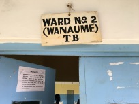 ward tb sign
